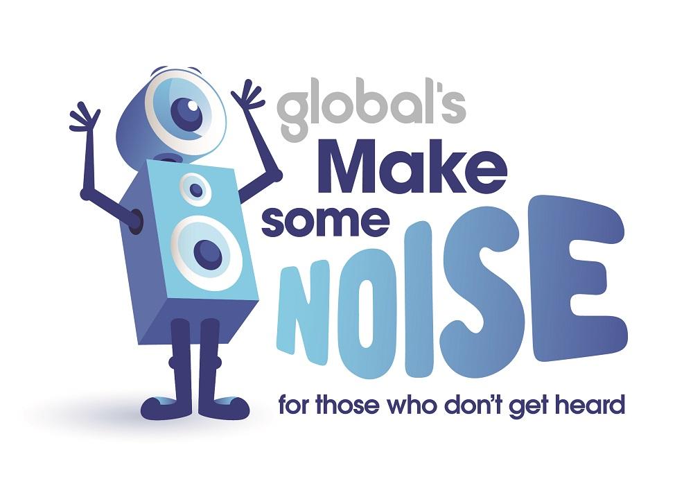 Global's Make Some Noise logo
