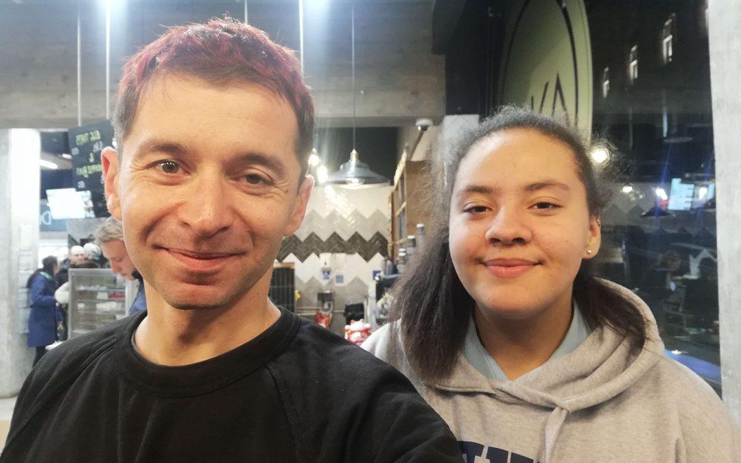 Mentoring success story: Kiera and Ian
