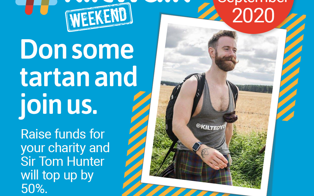 Virtual Kiltwalk Weekend