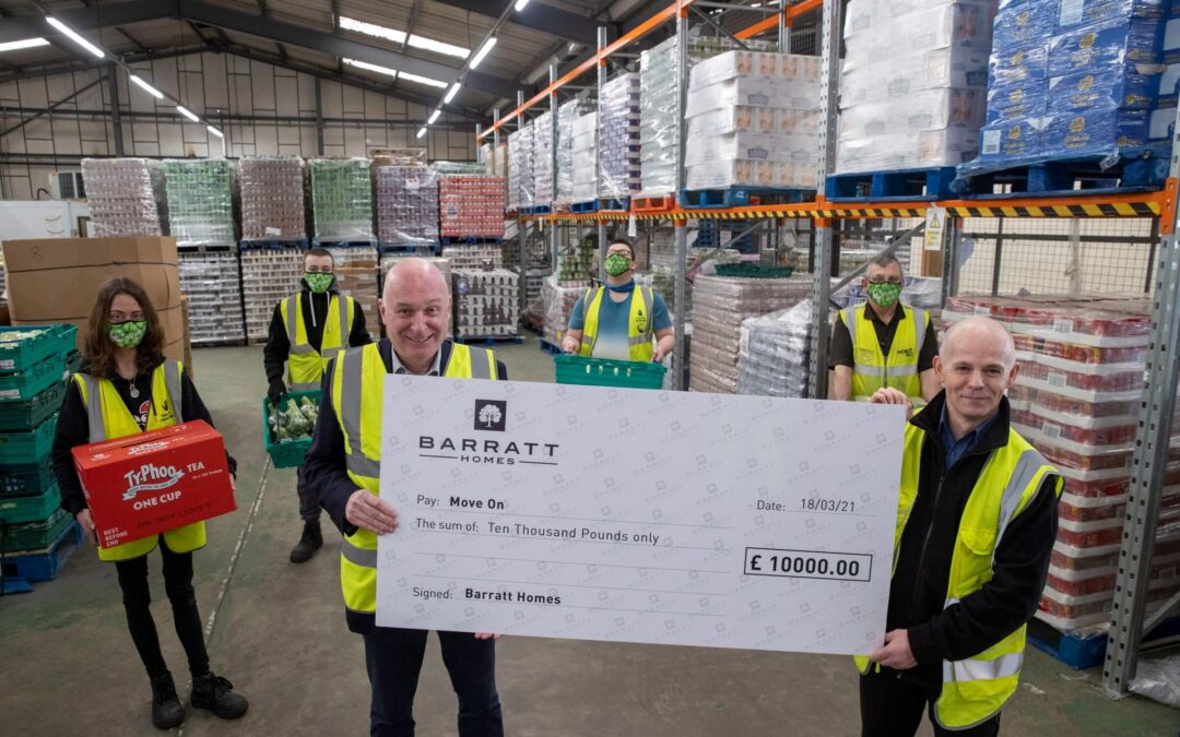 Barratt Developments donation