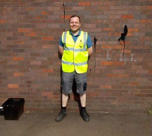 FareShare Glasgow and the West of Scotland volunteer David