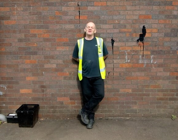 FareShare Glasgow and the West of Scotland volunteer Donnie