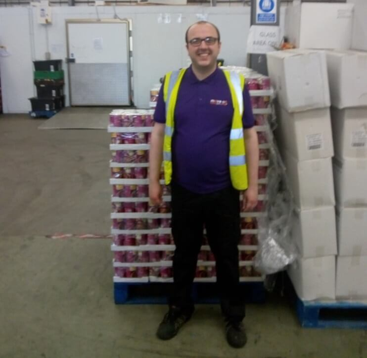 FareShare Glasgow and the West of Scotland volunteer Grant
