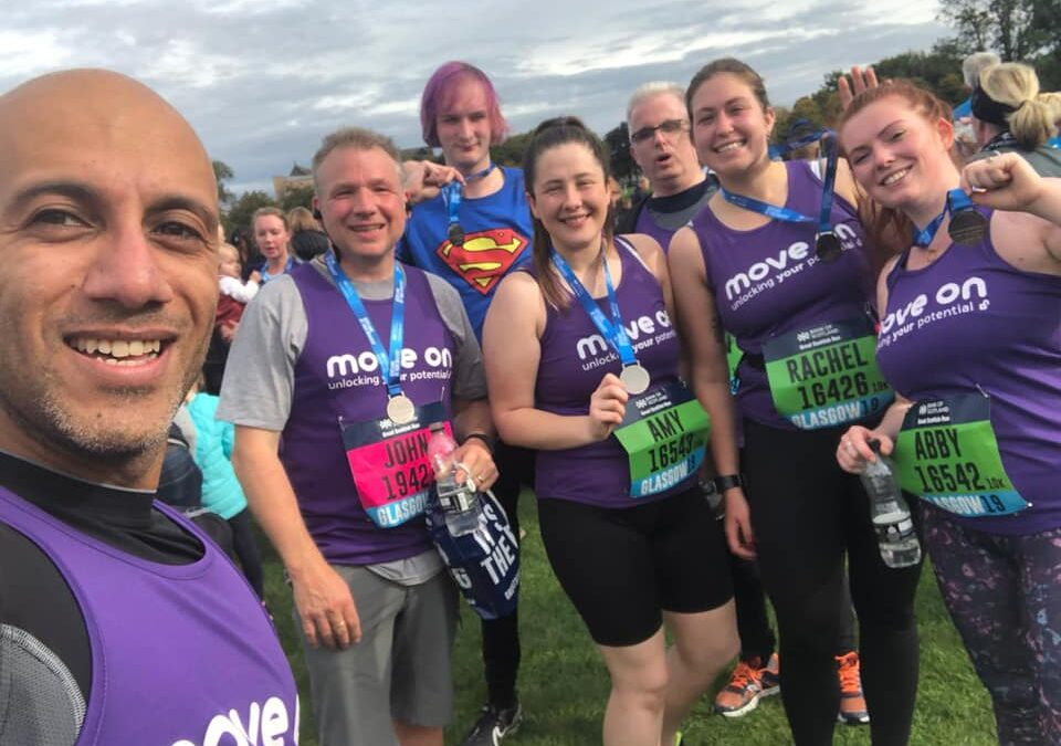 Join our Great Scottish Run team
