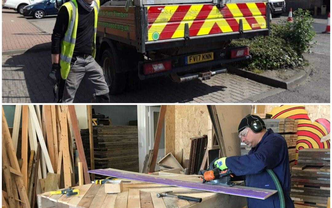 Move On Wood Recycling volunteer case studies
