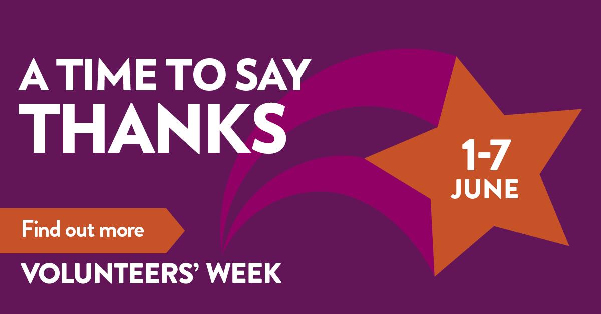 Volunteers' Week 2021 banner image