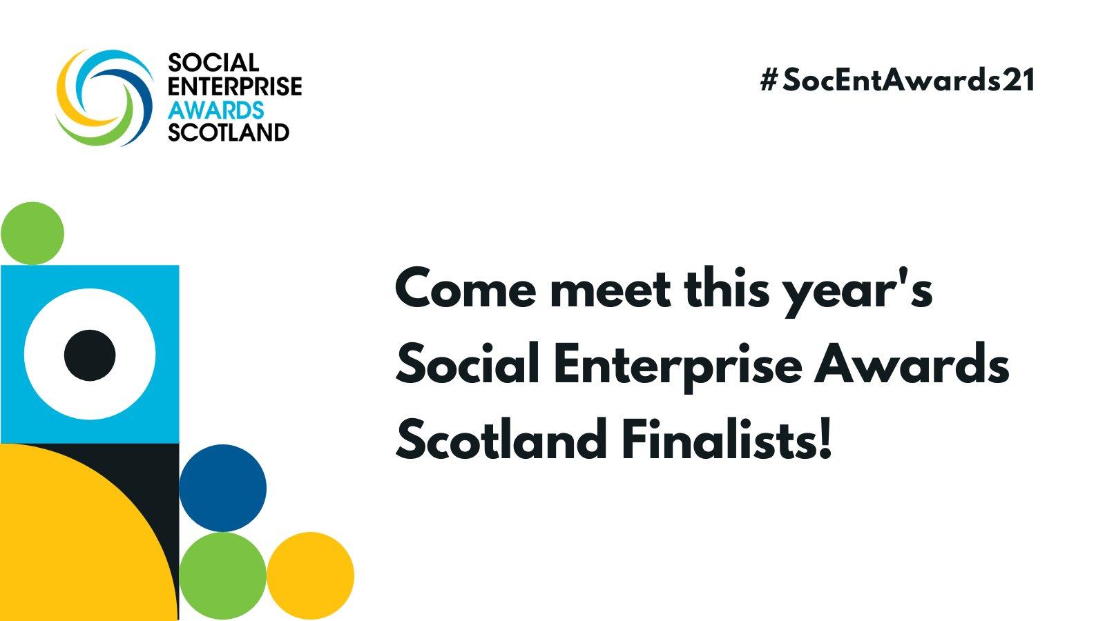 Social Enterprise Awards Scotland finalists